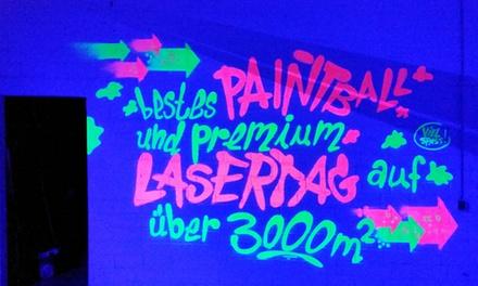 4 Stunden Paintball inkl. Maske, Markierer und je 200 Paint bei Adrenalinpark Leipzig (bis zu 66% sparen*)
