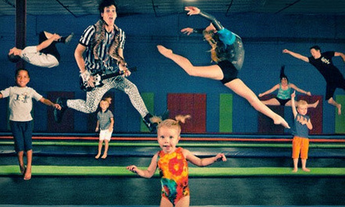 AZ Air Time -  Scottsdale: Two-Hour Play Session at Indoor Trampoline Park with Foam Pit for One, Two, or Four at AZ Air Time (Up to 60% Off)