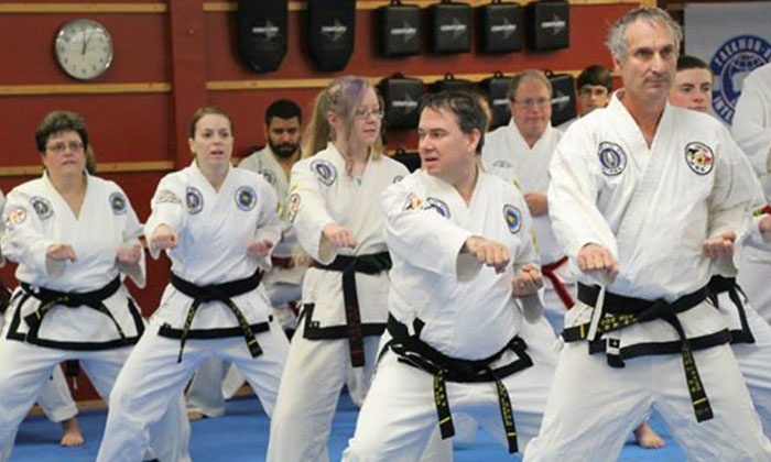 Asheville Sun Soo Tae Kwon Do - Asheville: $39 for One Month of Unlimited Classes for an Adult or Child at Asheville Sun Soo Tae Kwon Do ($185 Value)