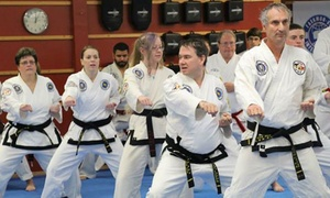 Asheville Sun Soo Tae Kwon Do: $39 for One Month of Unlimited Classes for an Adult or Child at Asheville Sun Soo Tae Kwon Do ($185 Value)