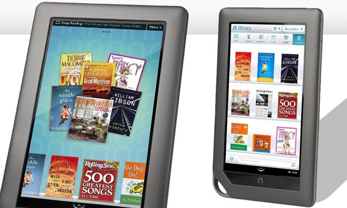 Nook Color 8GB E-Reader (BNRV200): Nook Color 8GB E-Reader (BNRV200) (Manufacturer Refurbished). Free Shipping and Returns.