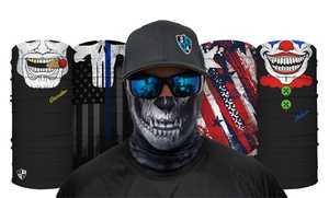 SA & Co. by Salt Armour: Face Shields, Headbands, and Apparel from SA & Co. by Salt Armour (Up to 53% Off). Three Options Available.