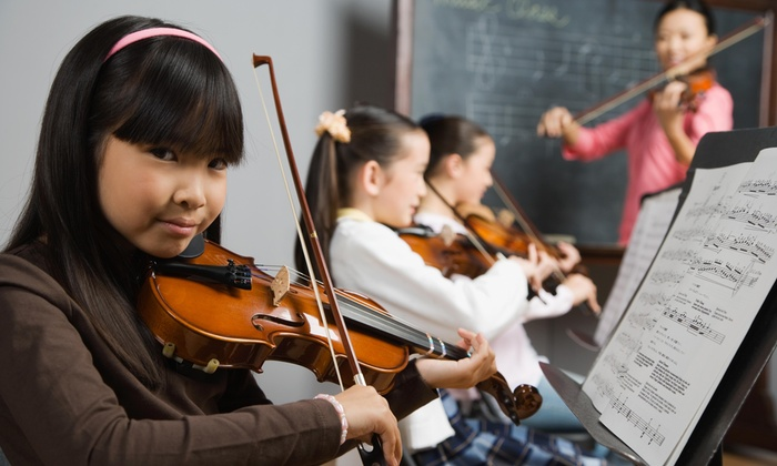 Suzuki Stringers - Scarborough: Four Private Music Lessons from Suzuki Stringers (45% Off)