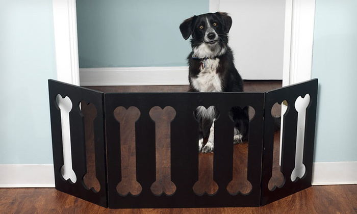 Up To 81% Off Adjustable Pet Gates | Groupon