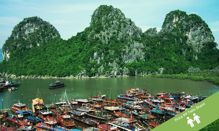 Vietnam: $469 Per Person for an EightDay North Vietnam Tour with Sightseeing and Guided Tours with Halong Tours Booking
