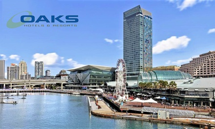 Darling Harbour, Sydney: Up to 3Night CBD Stay for Two People with Brekky and WiFi at 4.5* Oaks Goldsbrough Apartments