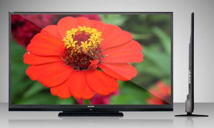 "Sharp 70"" 120Hz 1080p LED HDTV (LC70LE600U): Sharp 70"" 120Hz 1080p LED HDTV (LC70LE600U) (Manufacturer Refurbished)"