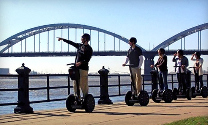 IA Segway  - Bettendorf: One- or Two-Hour Segway Tour from IA Segway in Bettendorf (Up to 51% Off)