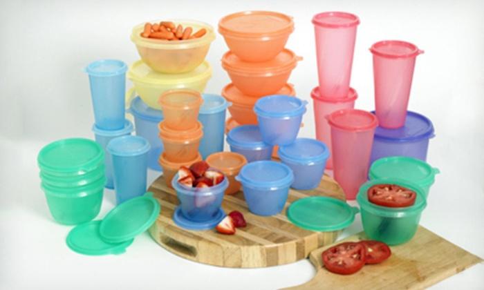 60-Piece Fresh Keeper Food-Storage Set: $24 for a 60-Piece Fresh Keeper Food-Storage Set ($79.99 List Price). Free Shipping.