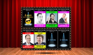 Complexe Fan Club: Dinner and Musical or Comedy Show for Two at the Complexe Fan Club (Up to 53% Off), 12 Dates