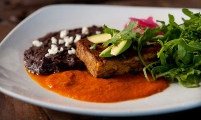 Zapoteca - Meeting House Hill,Downtown: Four-Course Prix Fixe Mexican Dinner for Two, Four, or Six at Zapoteca in Portland (Up to 56% Off)