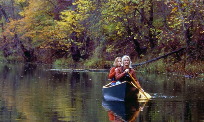 Riverfront Campground & Canoe - Niangua River - Bennett Springs: Canoe Rental with Option for Camping at Riverfront Campground & Canoe (Up to 54% Off). Five Options Available.