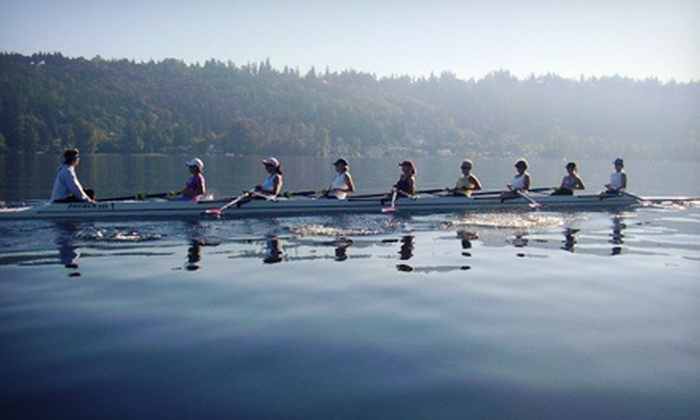 Sammamish Rowing Association - Viewpoint: One Three-Hour Rowing Class or One Month of Rowing Classes at Sammamish Rowing Association (Half Off)