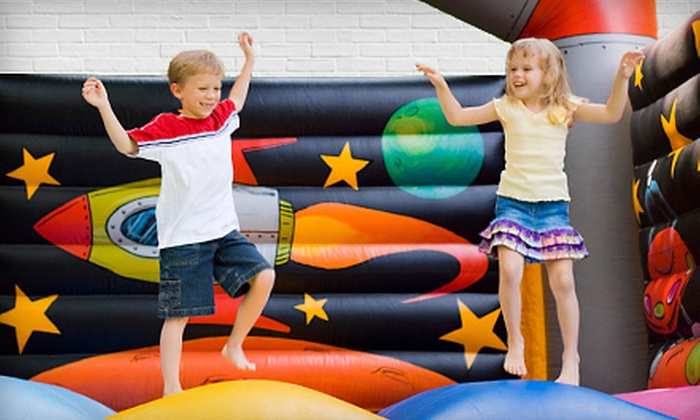Bounceria - Memphis: Inflatable Bounce House Rental or Kids' Party Package for Up to 15 from Bounceria (Up to 67% Off)