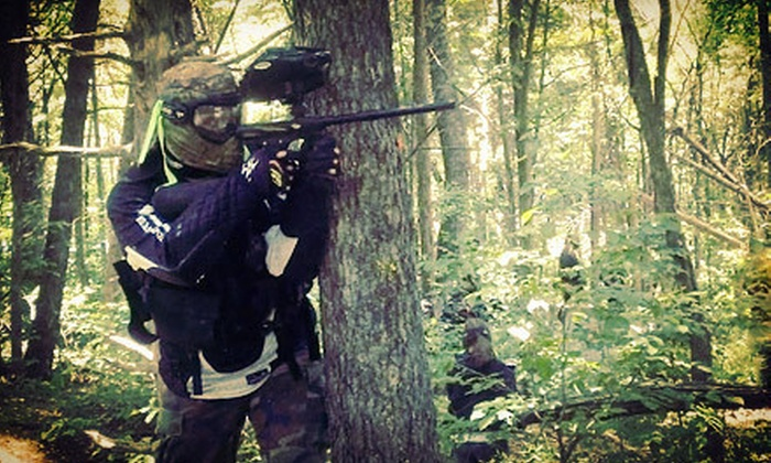 Conder's Paintball - Elizabethtown: Paintball with Equipment Rentals and 100 Paintballs for Two, Four, or Six at Conder's Paintball (Up to 52% Off)
