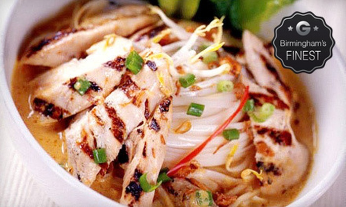 Surin of Thailand - Multiple Locations: $10 for $20 Worth of Thai Food and Sushi at Surin of Thailand