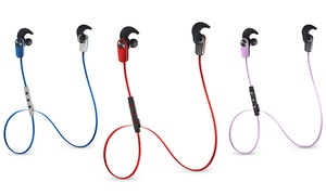 Photive Sweat-proof Wireless Bluetooth Stereo Earbuds With Built-in Microphone