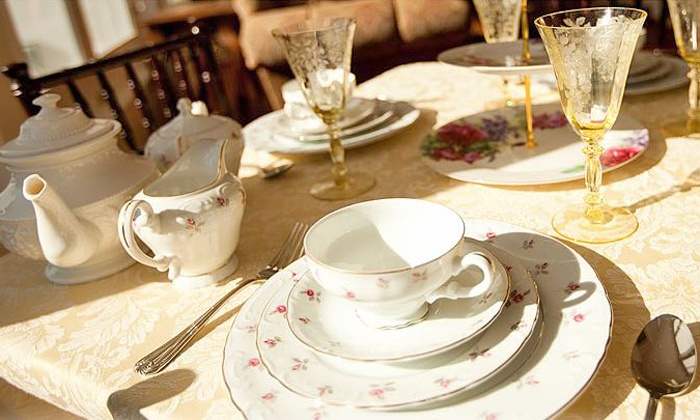 Historic Rosemont Manor - Berryville,	 VA: Three-Course Tea Service and a Manor Tour for 1, 2, 4, or 8 at the Historic Rosemont Manor (Up to 41% Off)
