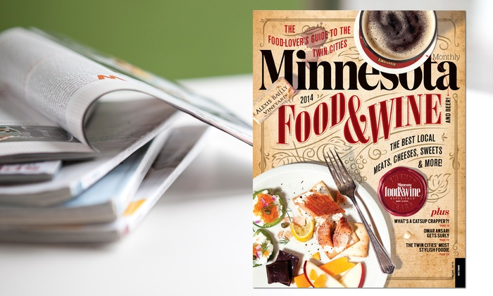 "Greenspring Media Group: $14 for a Two-Year Subscription to ""Minnesota Monthly"" (Up to a $26.95 Value)"