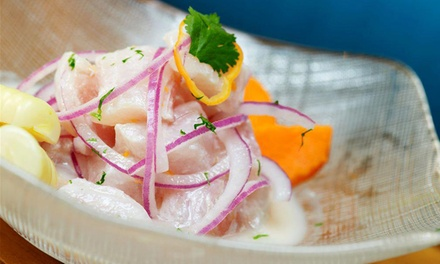 Peruvian Cuisine at Cebiche Highlands (42% Off). Two Options Available.