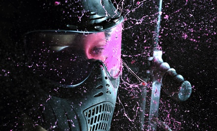 Paintball Package for One, Two, or Five with Gear Rental, Air, and Paintballs  at Giant Paintball (Up to 58% Off)