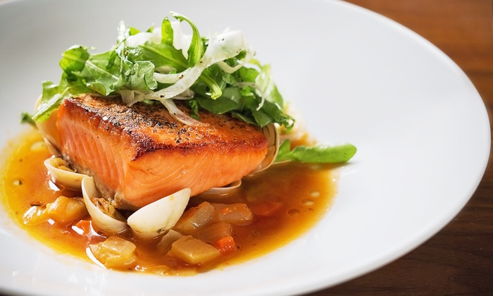 Hexx kitchen + bar - Paris Hotel and Casino: Gourmet American Food and Drinks at Hexx kitchen + bar (Up to 40% Off). Two Options Available.