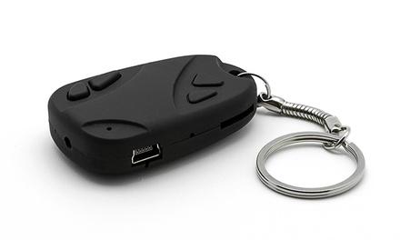Porta-chaves espião com câmara oculta para fotos e vídeos por 12,90€