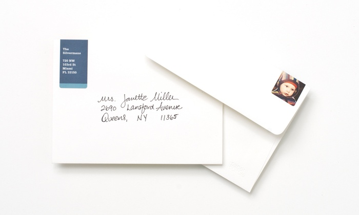 Paper Culture: 96 or 192 Custom Return-Address Labels from Paper Culture (Up to 73% Off)
