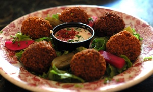 Sababa Mediterranean Grill: $15 for $25 Worth of Mediterranean Fare at Sababa Mediterranean Grill