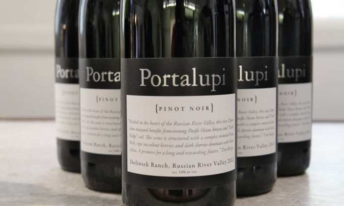 Portalupi Wine - Healdsburg: Wine and Food Tasting Experience for Two or Four at Portalupi Wine (Up to 55% Off)