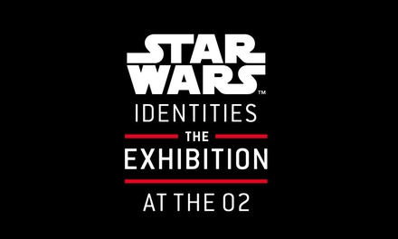 STAR WARS™ Identities: The Exhibition at The O2: Child, Adult or Family Peak or Off-Peak Ticket, 7 January - 3 September