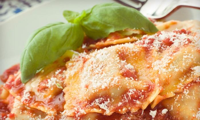 Vesuvio's Italian Kitchen - North Raleigh: $10 for $20 Worth of Casual Italian Fare for Dinner at Vesuvio's Italian Kitchen