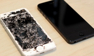 We Can Fix It: Front Digitizer and Screen Repair for a Mobile Device at We Can Fix It (Up to 74% Off). Three Options Available.