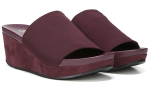 Carlos by Carlos Santana Debbi Slip-On Wedge Sandals (Size 6.5)