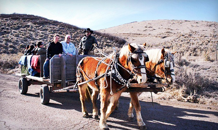 Blue Sky Adventures - Wanship: Scenic Wagon Ride with Lunch for Two, Four, or Six at Blue Sky Adventures (Up to 56% Off)