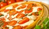 Sicilian Pizza & Pasta - Central Business District: $12 for Pizza Meal with Large Pizza, Side Salads, and Fountain Drinks at Sicilian Pizza and Pasta (Up to $23.85 Value)