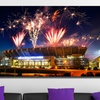 """40""""x22"""" NFL Stadium Prints on Gallery-Wrapped Canvas"""