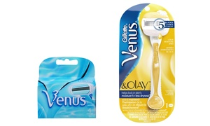Gillette Venus & Olay Razor and 4 Refill Cartridges