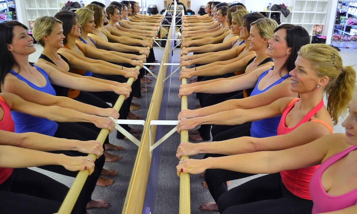 Bodylanguage - Multiple Locations: Five or Eight Barre, Spinning, Pilates Caliente, or TRX Classes at Bodylanguage (Up to65%Off)