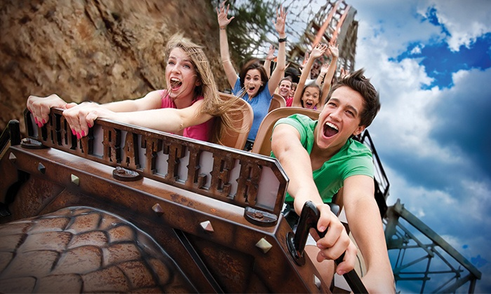 Book of Free: $49 for a Book of Free Gift-Certificate Book and Two Six Flags Fiesta Texas Tickets (Up to $197.97 Value)