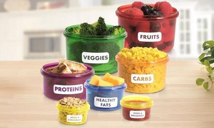 71 Off On Portion Control Container Set Groupon Goods