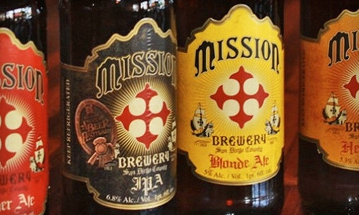 Mission Brewery - East Village: Private Tasting and Tour for Two, Four, or Eight at Mission Brewery (Half Off)