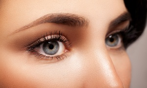 The Summer House Salon: Semi-Permanent Make-Up on Eyeliner or Eyebrows, with Optional Lash Enhancement at The Summer House Salon (Up to 78% Off)