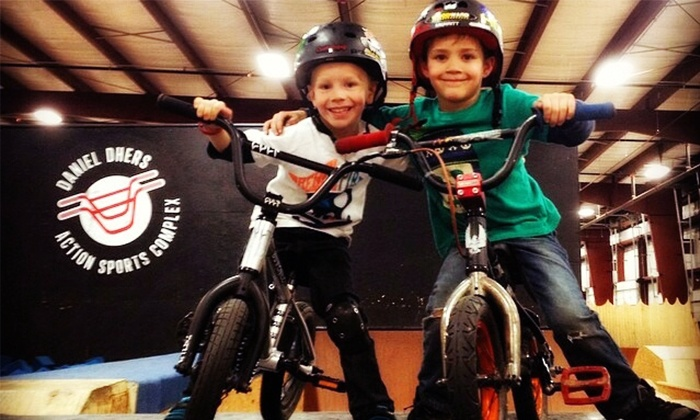 The Daniel Dhers Action Sports Complex - Holly Springs, NC : Two-Hour BMX Park Pass or Party for Up to 10 Kids at The Daniel Dhers Action Sports Complex (Up to 52% Off)