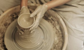 Up to 67% Off Pottery-Wheel or Clay-Building Workshop for One