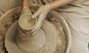 Clay Cafe: Pottery-Painting for One or Two or Wheel or Clay-Building Workshop for One or Two at Clay Cafe (Up to 64% Off)