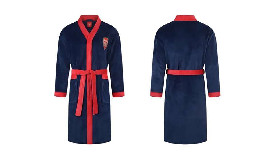 Men's Football Dressing Gowns in Choice of Design From £17.50