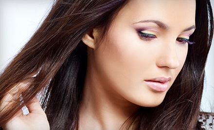 Haircut and Blow-Dry with Options for Full Color or Partial or Full Highlights at Texturz Hair Studio (Up to 68% Off)
