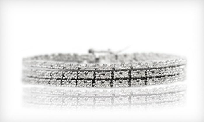 2-Carat Diamond Tennis Bracelet: $129 for a 2-Carat Horizontal Diamond Tennis Bracelet ($500 List Price). Free Shipping.