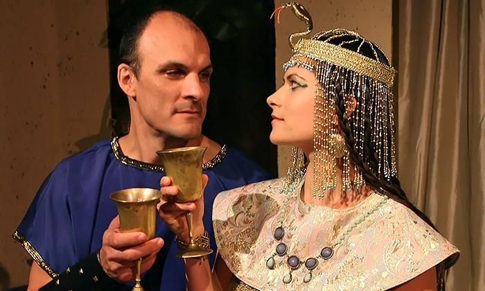 """Antony and Cleopatra - The Richard Goad Theater: Long Beach Shakespeare Company's """"Antony and Cleopatra"""" at Richard Goad Theater on March 13–21 (Up to 31% Off)"""